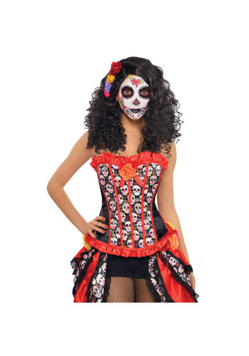 Corset Day of the Dead - One Size