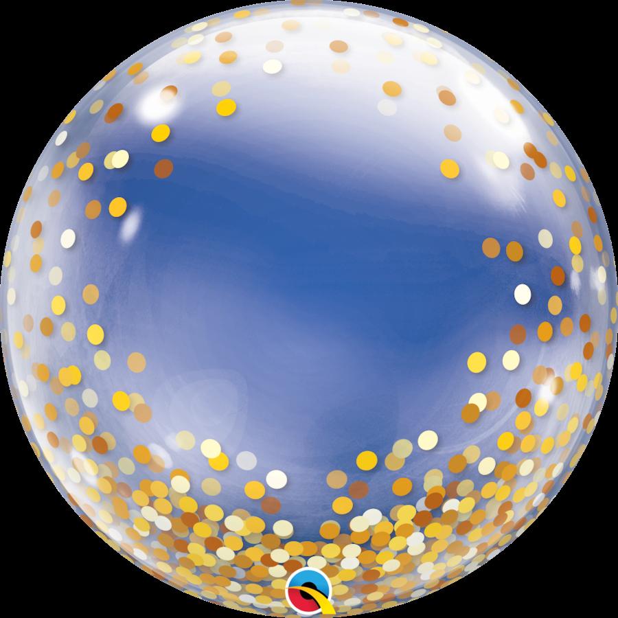 Deco Bubble Dots Gold-2