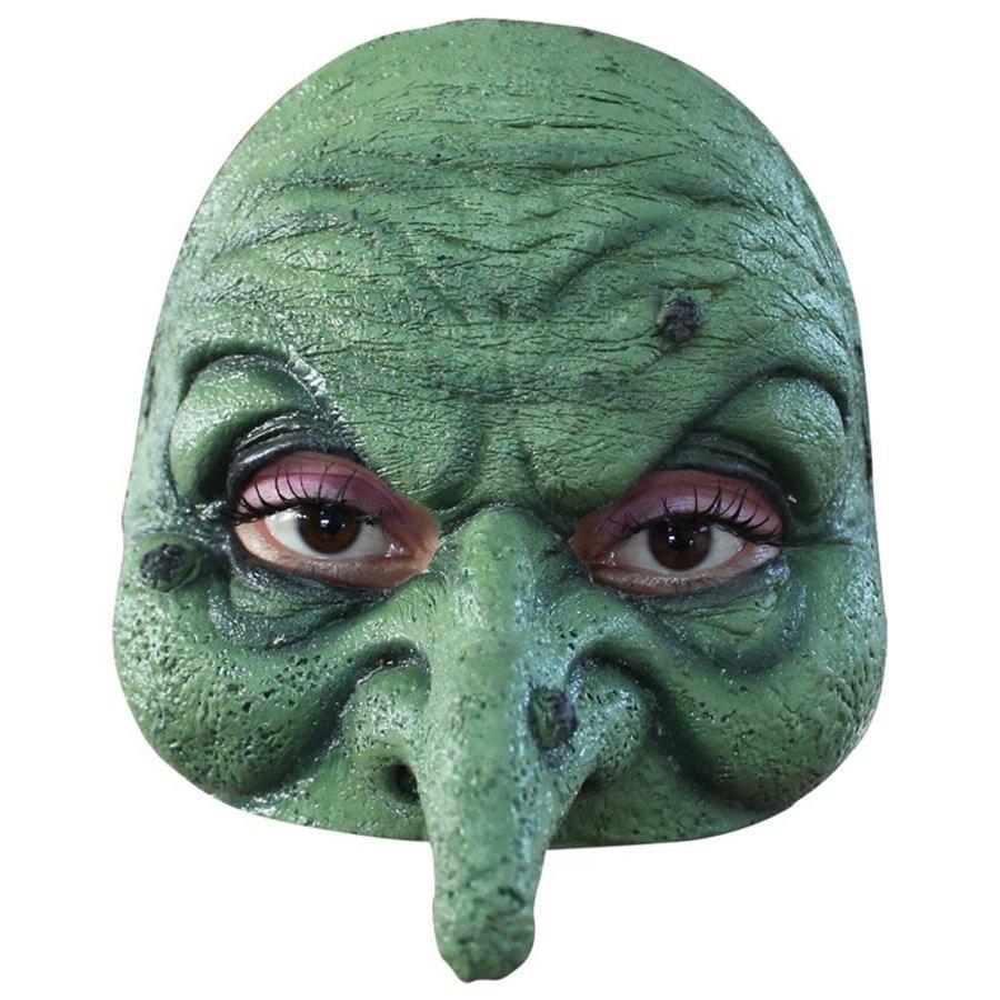 Latex half masker Witch-1