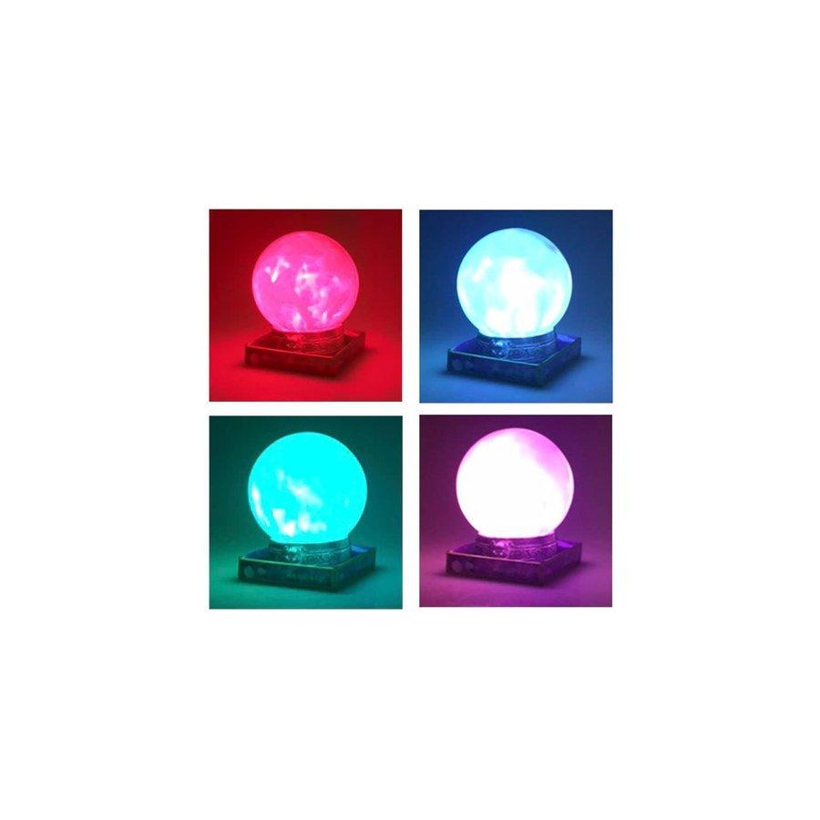 Glazen Bol met licht en geluid-2