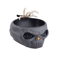 Trick or Treat Candy Bowl Skull