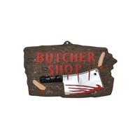 Uithangbord Butcher Shop