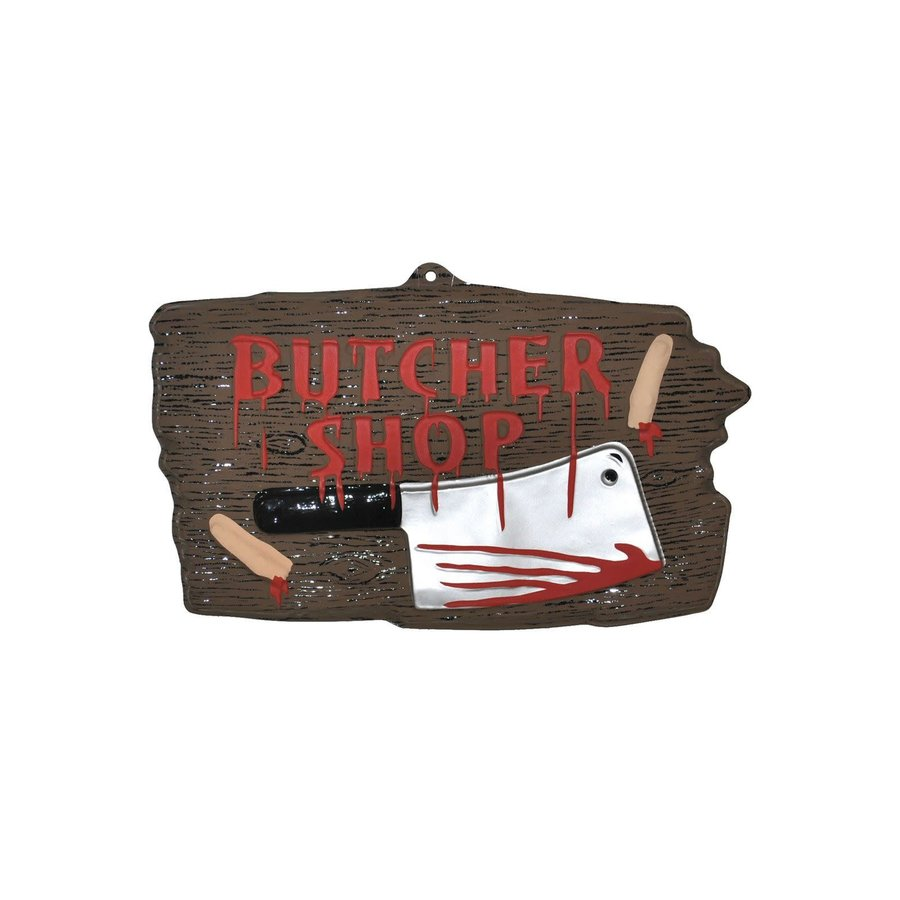 Uithangbord Butcher Shop-1