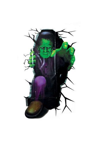 Plastic Poster Frankenstein - 100x45cm
