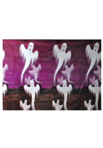 Plastic Poster Spoken - 1 x 1,2 mtr