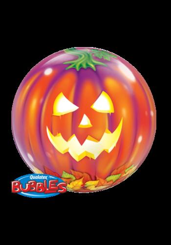 Bubble Ballon Pompoen - 61 cm