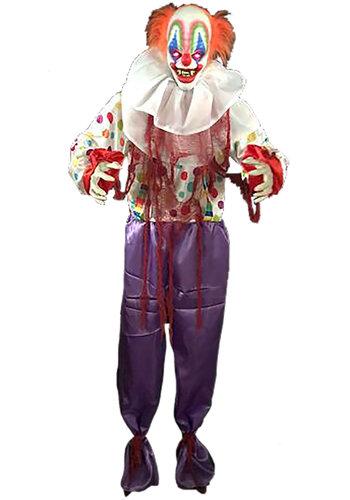 Standing animated clown - 120x20x166cm