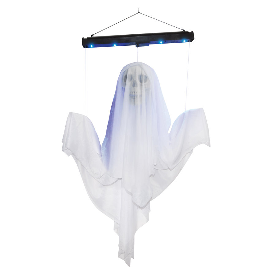 Vliegend spook met blacklight - 122x61x18cm-1