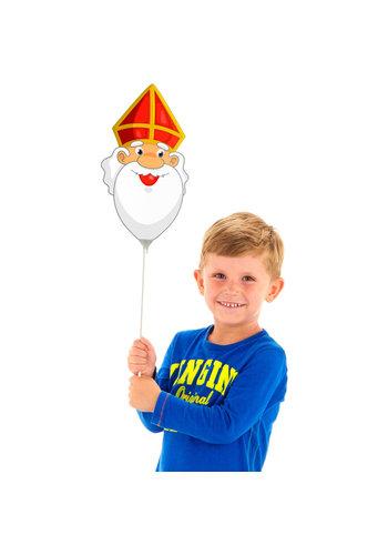 Mini Figuurballon Sinterklaas - 22 cm