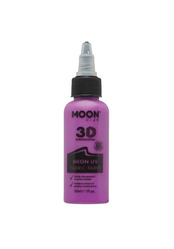 Textiel Verf - Neon Purple  - 30ml