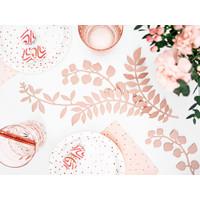 thumb-Decoratietakjes met bladeren - poederroze-4