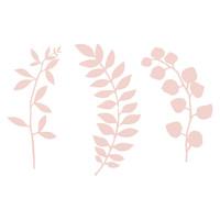 thumb-Decoratietakjes met bladeren - poederroze-5