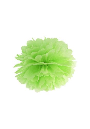 PomPom Lime Groen - 35cm