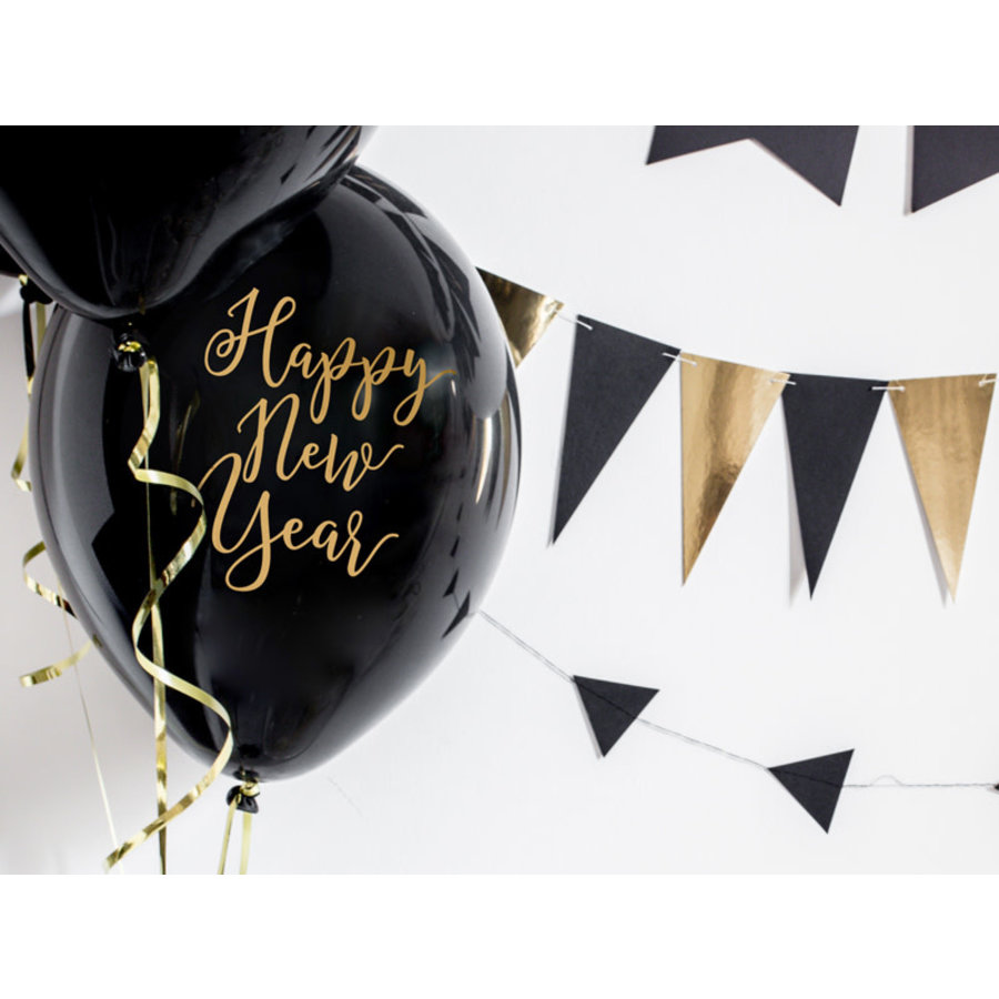 Ballonnen Happy New Year-1