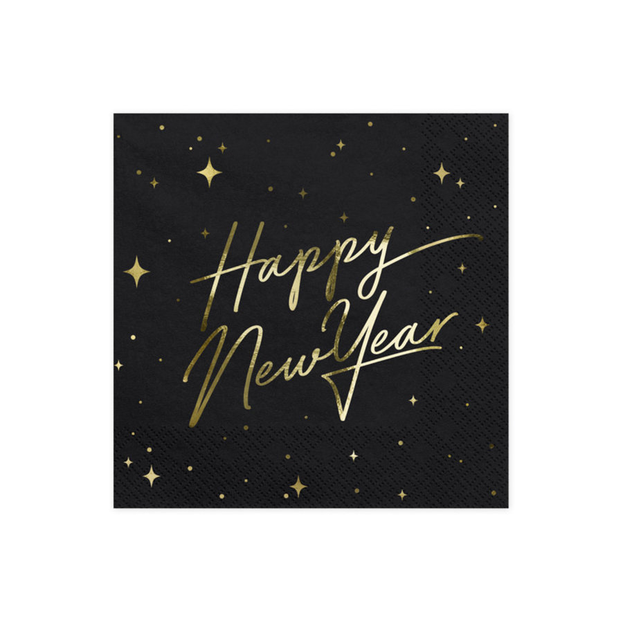 Servetten Happy New Year-2
