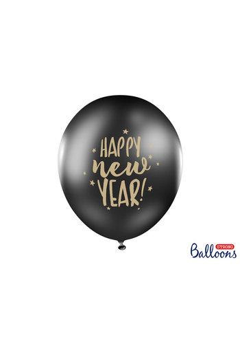 Helium Gevulde Ballonnen Happy New Year