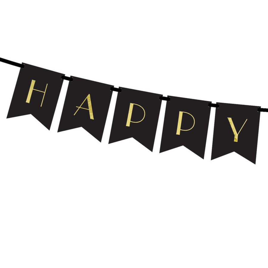 Happy New Year letter banner-2