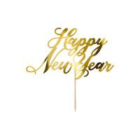thumb-Happy New Year taart topper-2