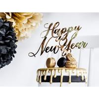 thumb-Happy New Year taart topper-1