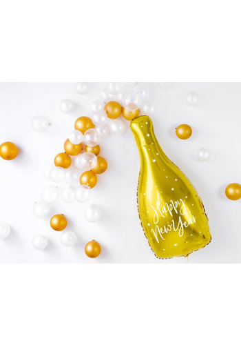 Folieballon Champagne Fles