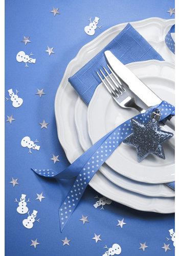 Mollige sneeuwpop confetti - 7 g
