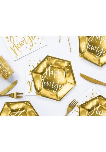 Bordjes Gelukkig Nieuwjaar