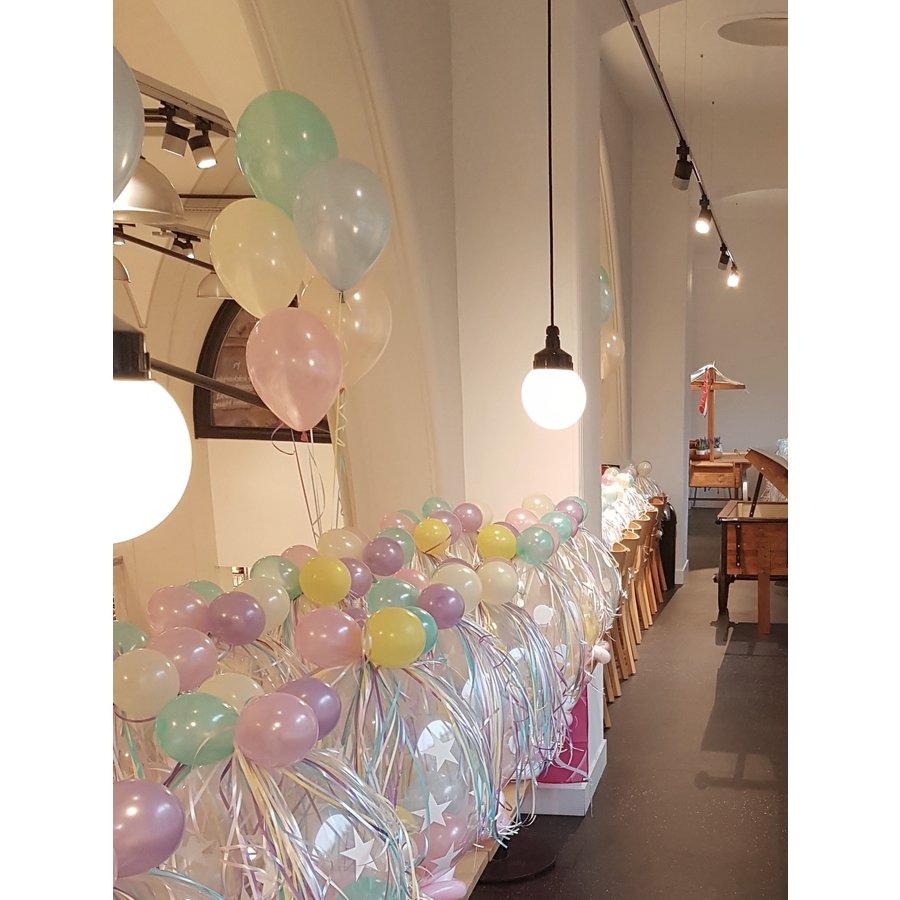 Staander van 5 heliumballonnen-2