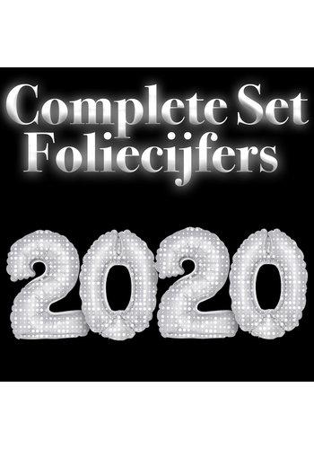 Complete set Folie cijfers 2020 - Dots