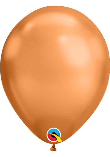 Heliumballon Copper Chrome (28cm)