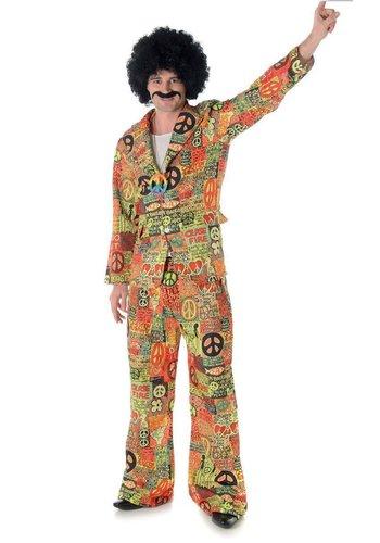 Hippie Kostuum Heren - Maat XL