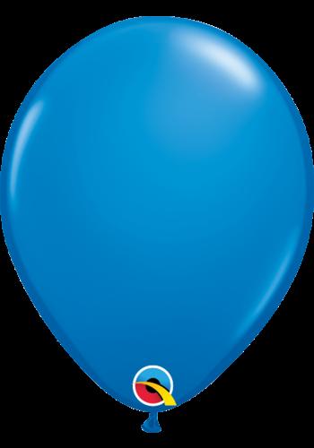 Heliumballon Donker Blauw Standaard (28cm)