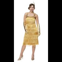 thumb-Flapper Dress Goud-1