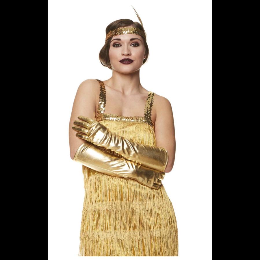 Flapper Dress Goud-2