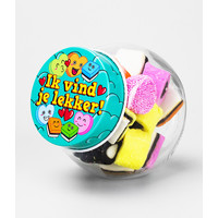thumb-Candy Jar - ik vind je lekker-1