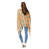 thumb-70's Hippie poncho - One Size-2