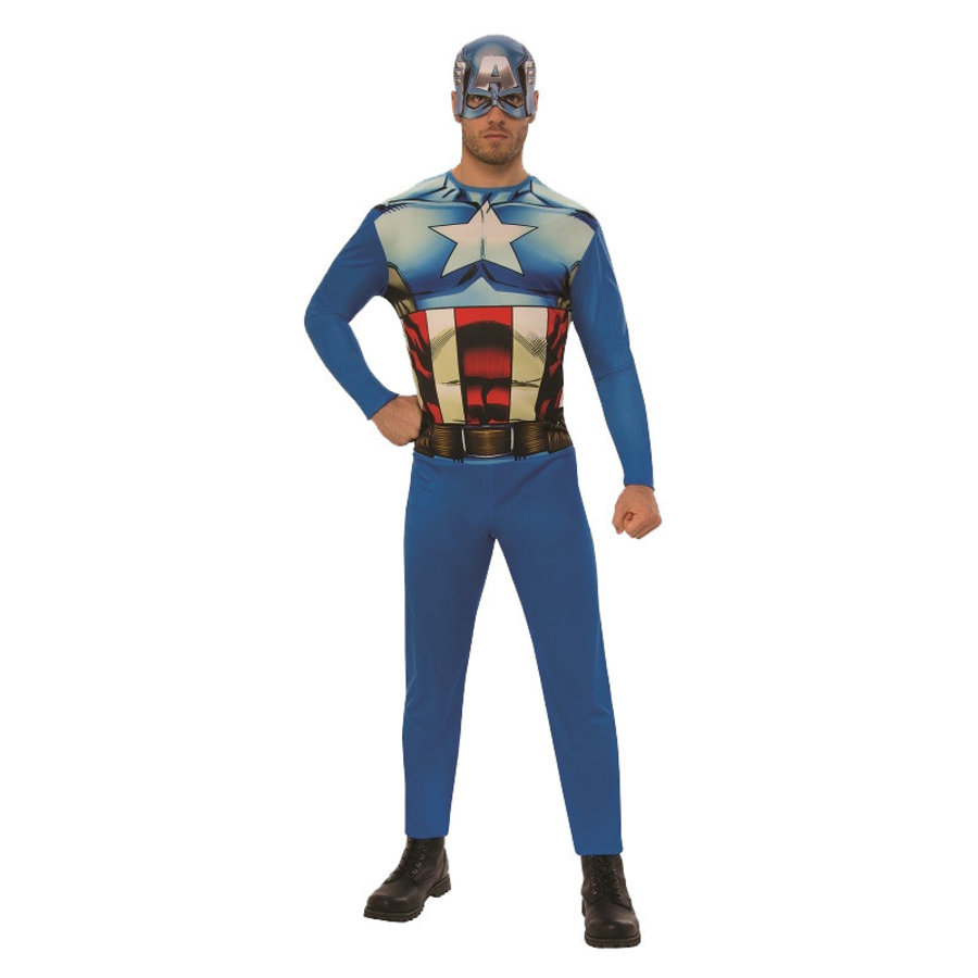 Captain America OPP Adult - One Size-1