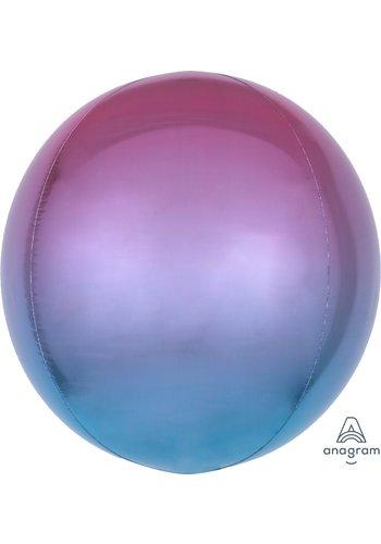 Orbz Marmer Roze/Paars/Blauw - 38 x 40cm