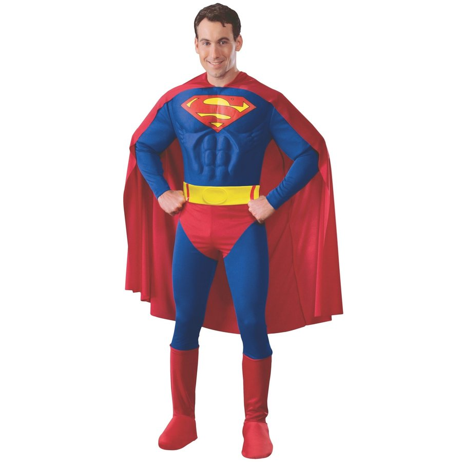 Superman Muscle Chest Adult-1