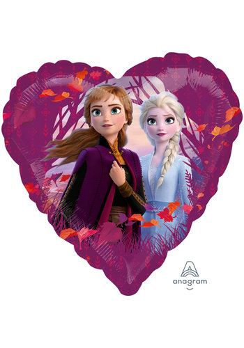 Folieballon Frozen 2 Hart