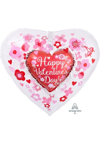 Folieballon Insider Happy Valentine's day