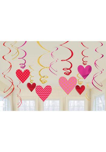 Swirl Heart Decoratie
