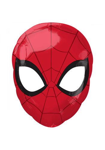 Folieballon Spiderman Head - 43x30cm