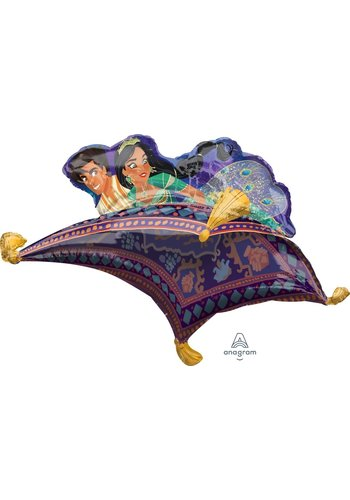 Folieballon SuperShape Aladdin - 106x63cm