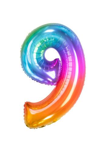 Folieballon 9 Yummy Gummy - 86cm