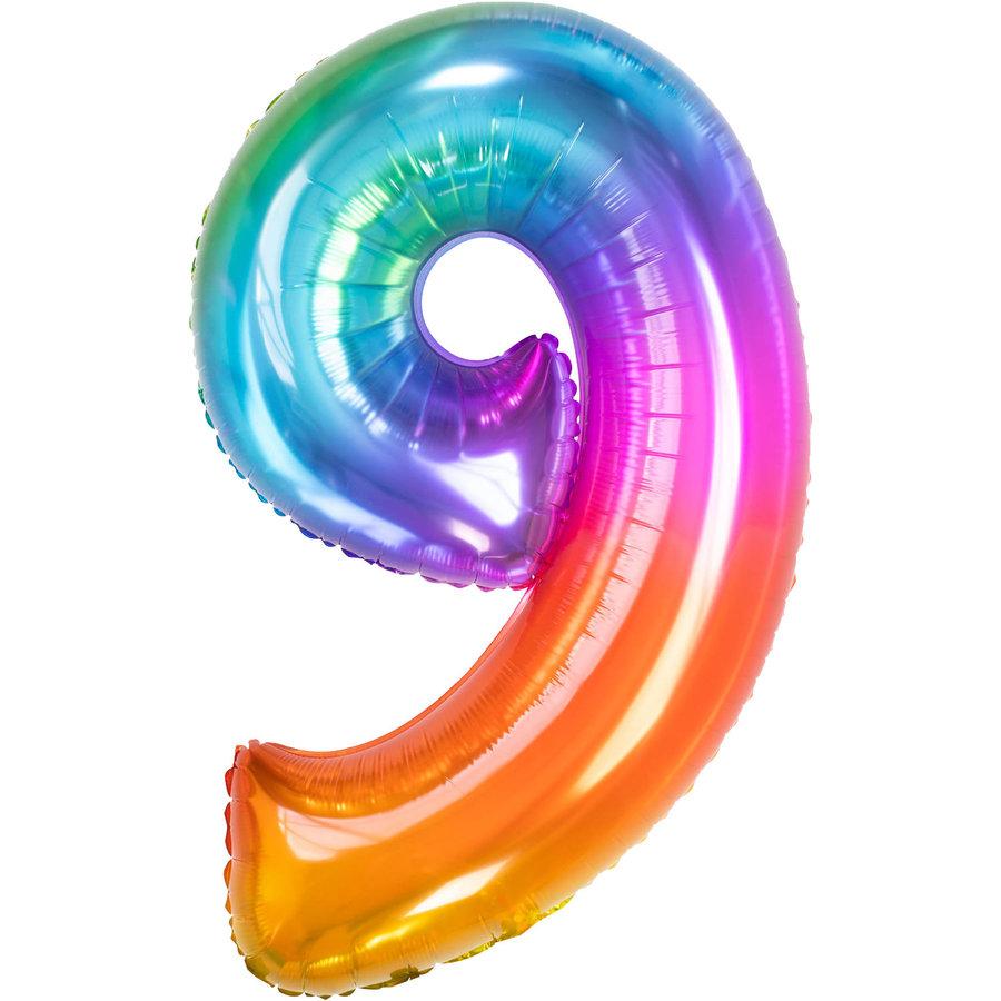 Folieballon 9 Yummy Gummy-1