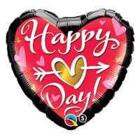 Folieballon Happy Hart Day