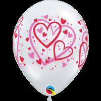 Ballonnen Pattern Hearts