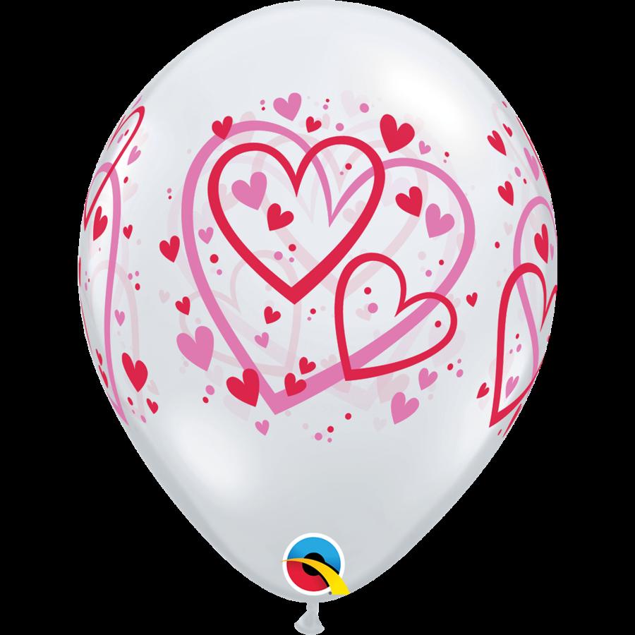 Ballonnen Pattern Hearts-1
