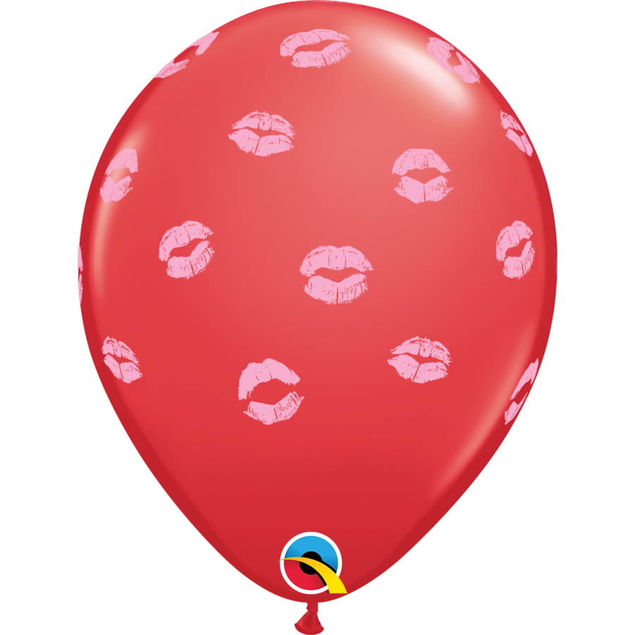 """11"""" Special Kissy Lips Rood - 28cm-1"""
