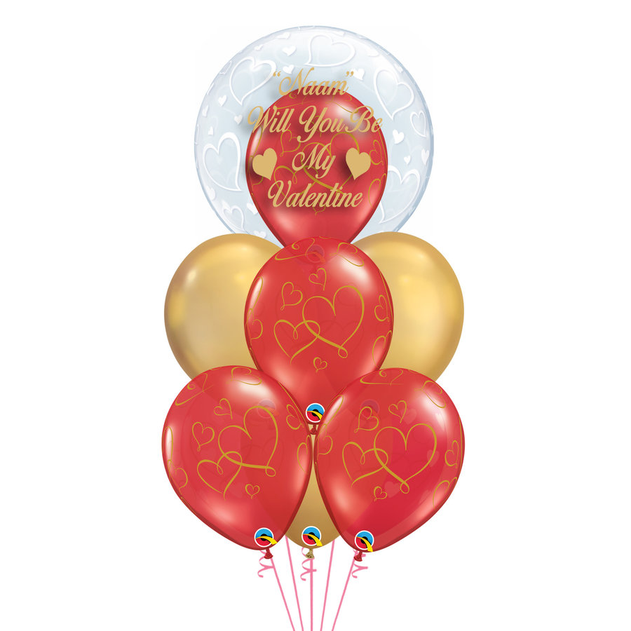 Personalised Valentine Balloons-1